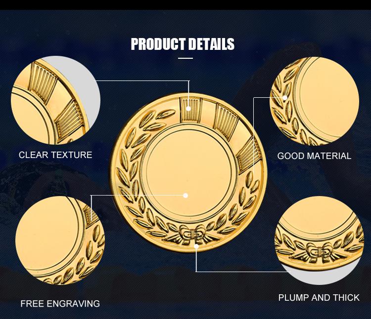 2019 مخصصة ميدالية ميدالية تذكارية المعادن الرياضة تشغيل ميداليات مخصص ميدالية