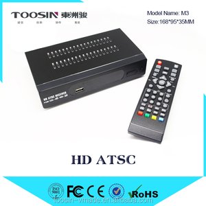 Cheapest!!! DVB-ATSC Android4.4.2 TV Box Amlogic S805 Quad core RAM 1GB Flash 8GB