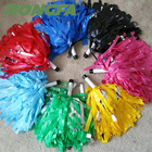 Various colors Cheerleading sport plastic pompom cheering pom poms