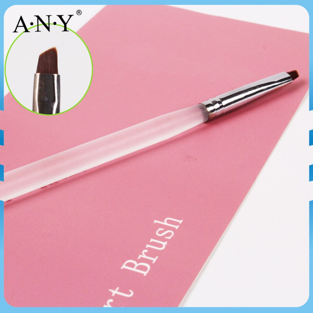 ANY Nail Art School Using Acrylic Handle One Stoke Nail Brush Guangzhou