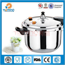 stainless steel professional induction base pressure cookers, suitable to gas stove & induction cooker