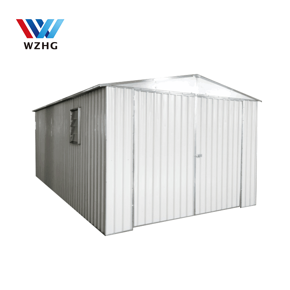 Best price good quality steel construction warehouse morden garden outdoor storage shed tool house storage shed