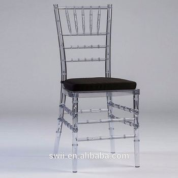 stacking iron chiavari chair clear acrylic dining room