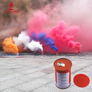 3 minutes pull the ring powerful cans shape outdoor color smoke flare fireworks