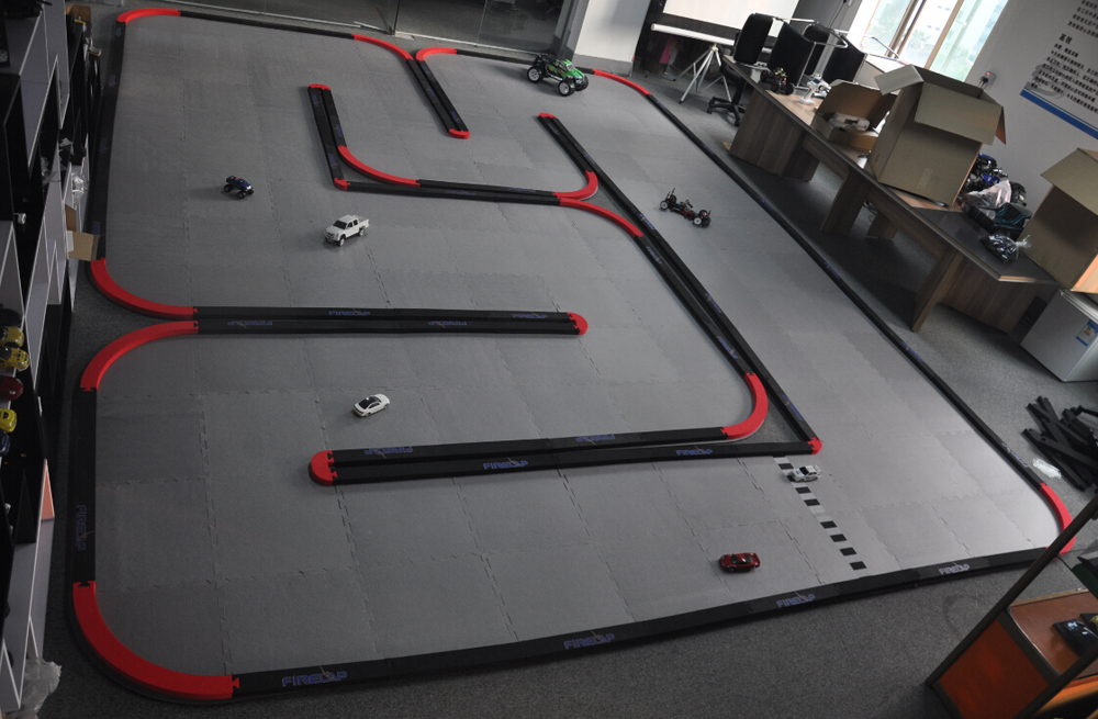 39 Square Meters Large Rc Car Race Tracks For