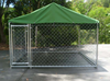 New Large Outdoor Dog Kennel Enclosure Exercise Pen Heavy Duty 10'L x 5'W x 6'H