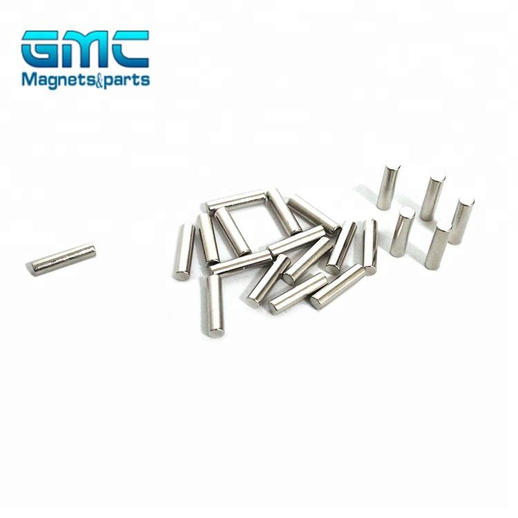 "Neodymium Refrigerator Magnets Rare Earth N35 4x8mm Cylinder 5//32/"" x 5//16/"""