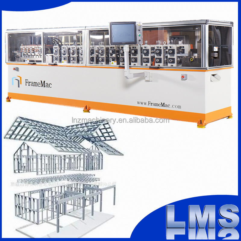 frame mac cold-rolled forming machine light gauge steel framing machine