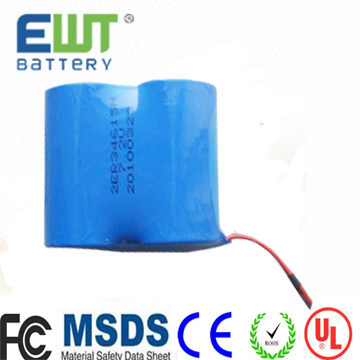 quality and safety control battery er341245 3.6v dd size lithium battery