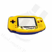 DIY Game Case Limited Edition Yellow Blue Housing Shell Cover Case Repair Replacement For for GameBoy Advance for GBA console