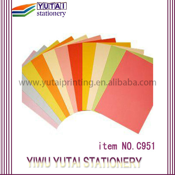 Yutai A4 & A3 COLOR COPY PAPER manufacturer