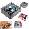 Foldable drawer dividers closet organizers cube cloth storage boxes foldable storage organizer