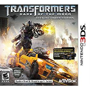 Transformers: Dark of the Moon Stealth Force Edition with Exclusive Bumblebee Code for Nintendo 3DS