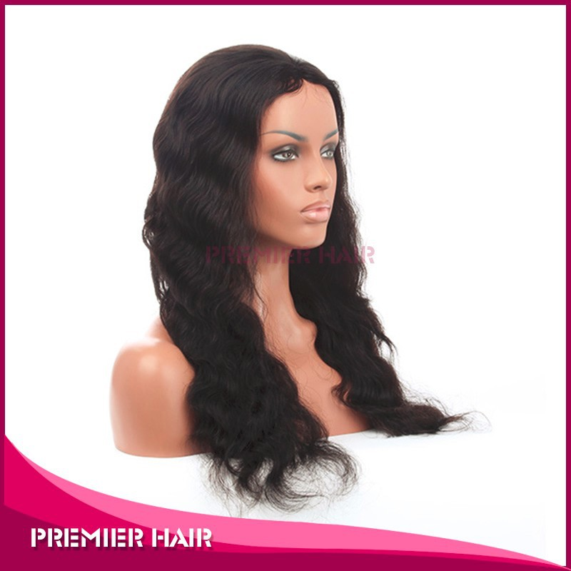 deep wave Ample supply and prompt delivery brazilian hair full lace wig 20 inches 30 inches