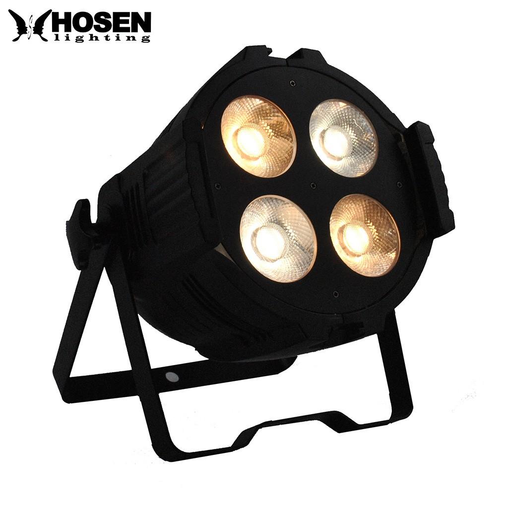 4pieces led *50w COB LED Mini Blinder Four Eyes par light  warm white/cool white 2in1