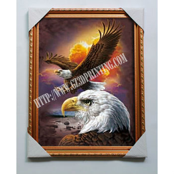 High Definition Distributors Wanted America Eagle 3d Picture Frame