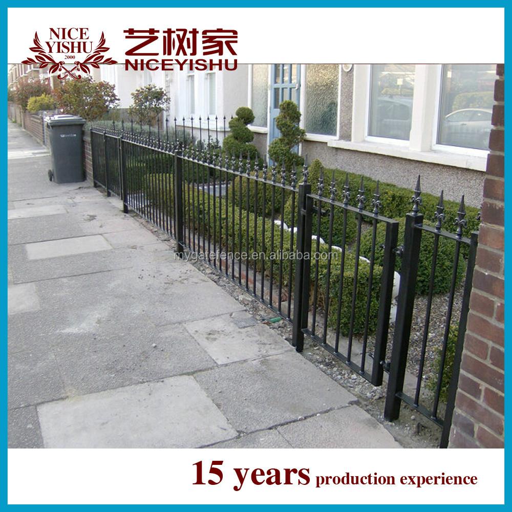 aluminum fenceround galvanized metal fence metal fence