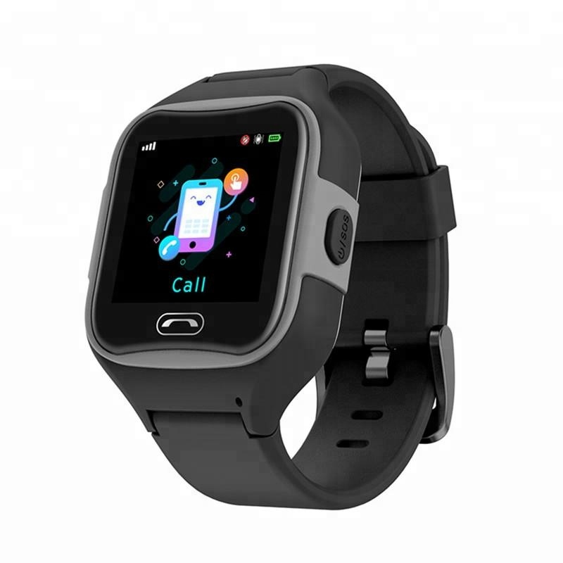 Black Best Selling G75 New Children Smart Watch Phone WIFI 2G Kids Tracking Gps with Touch Screen SMA-M2