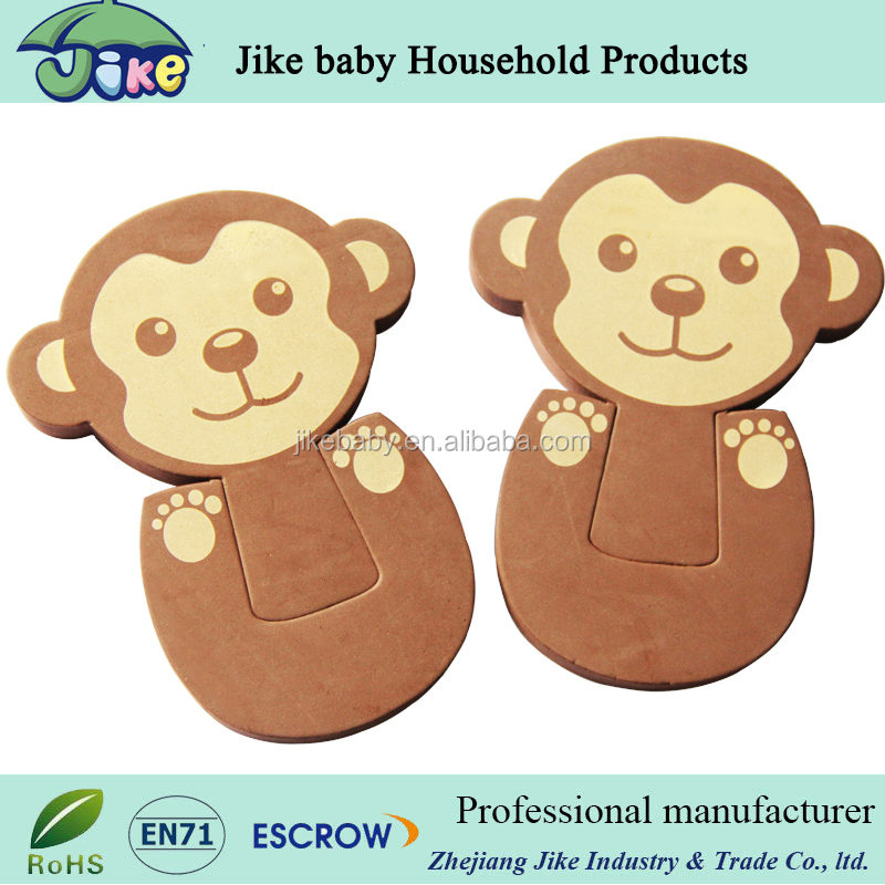 Hot sales baby safety monkey shape EVA truck door holder