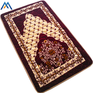 Colorful beautiful design camping sponge indian prayer rug for sale