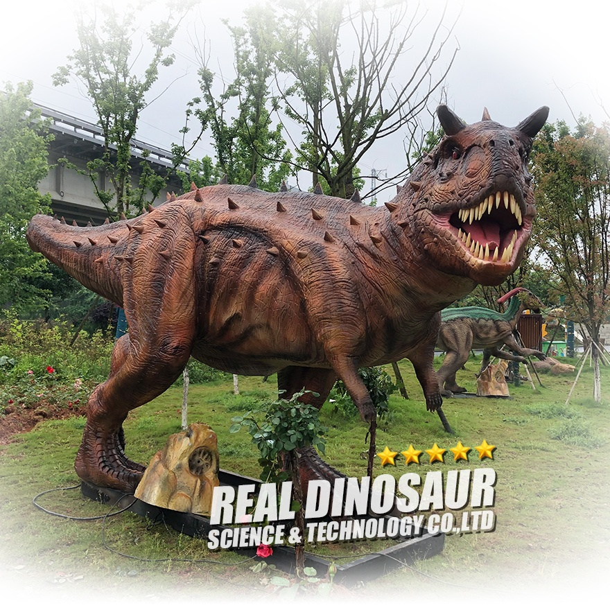 The most popular realistic animatronic dinosaur handmade real size dinosaurs