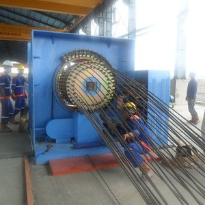 High quality circle round concrete pile cage weld machine for sale