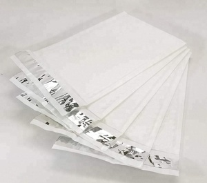 Wholesale pure white color self seal poly bubble mailers padded shipping envelopes