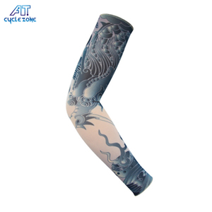 Customized Cheap Anti-uv Multi Color Men Cycling Sports Arm Sleeve