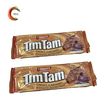 Custom printed center seal packaging chocolate bag with good price