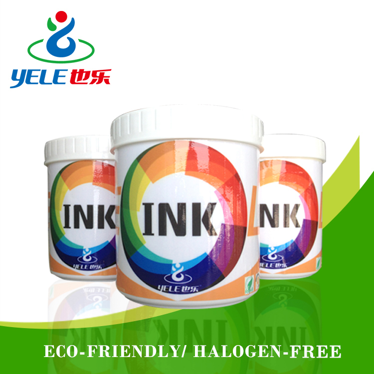 High-adhesive eco solvent ink for plastic