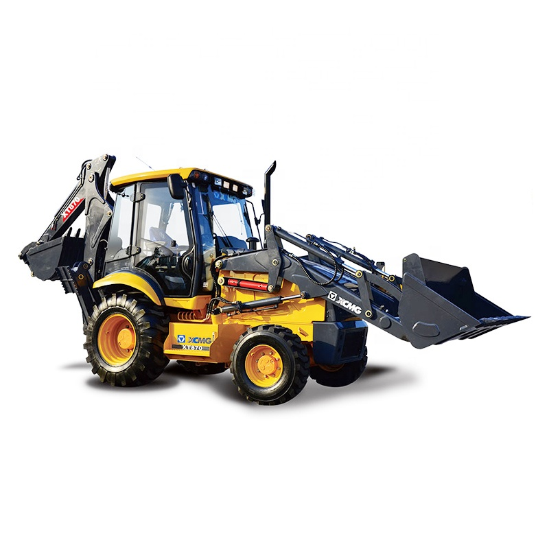 XCMG WZ30-25 1m3 mini backhoe loader/tractor with front end loader and backhoe