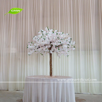 Gnw Ctr1605002 Wholesale Light Pink Wedding Decoration Centerpieces Cherry Blossom Artificial Tree Stand On Table Buy Wedding Table Tree