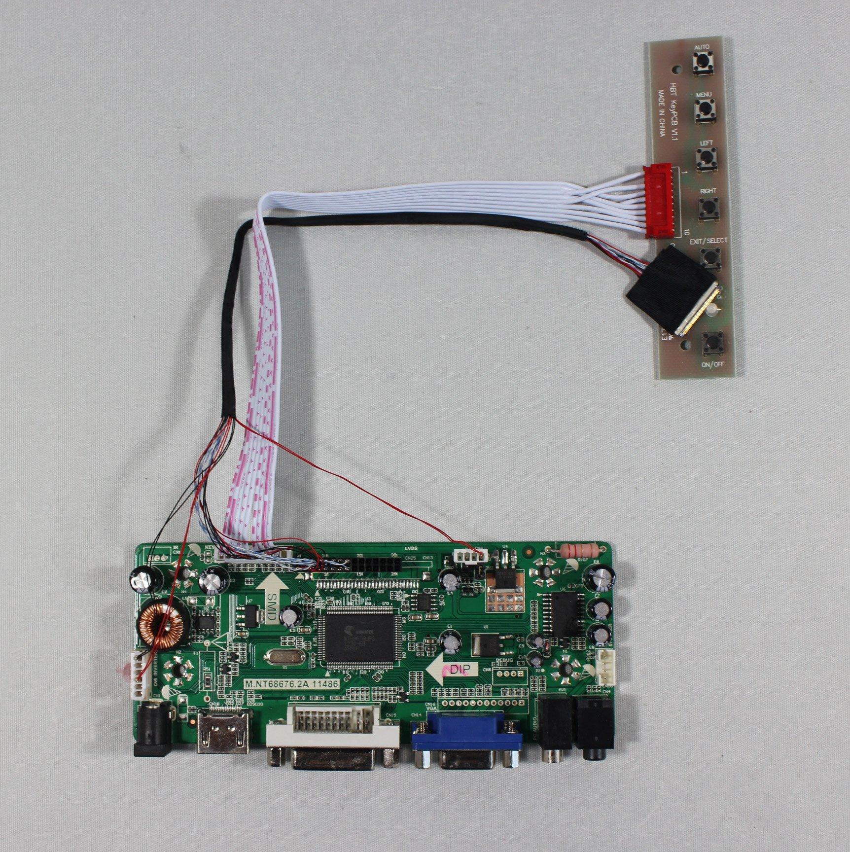 "HDMI+VGA+DVI+Audio LCD Driver Board For 8.9"" B089AW01 N089L6 HSD089IFW1 LP089WS1 1024x600 LCD panel"