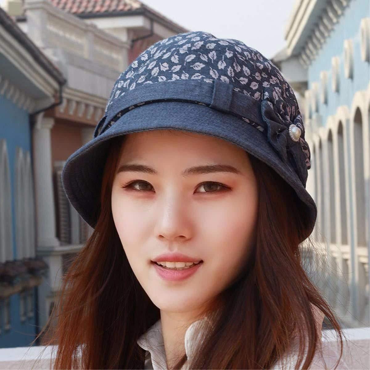 3ffe072403c Get Quotations · LONFENN Ladies Women Hats Basin Cap The Cap Spring Summer Fashion  Cap Mother Cap Outdoor Visor