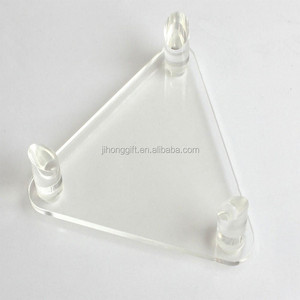 Transparent Perspex Plexiglass Deluxe Acrylic Ball Stand