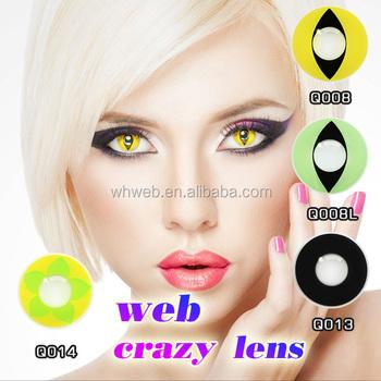 Crazy Circle Lenses Cat Eye Contact Lens Magic Color Vassen Contact