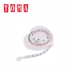 Gym Hand Tool PVC BMI Calculator Measuring Tape