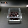 The latest fashion convenient and practical plastic products square acrylic jewelry bracelet box