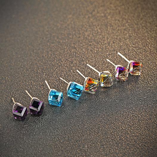 93701f587f9a Esmeralda precio por quilate cubo de agua pendientes de joyería importados  de China