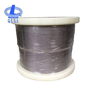 Galvanized wire rope for fasteners, steel cable fasteners