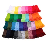 Wholesale cotton icing girls ruffle shorts boutique clothing kids baby designer girls shorts