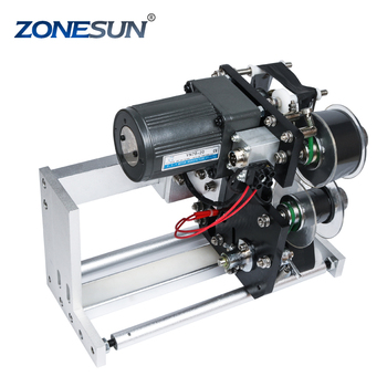 ZONESUN expiry date ribbon coding label printer hot ribbon coder for LT-50 labeling machine