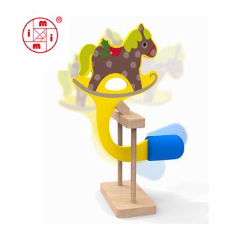 Gambar Diy Diri Perakitan Mainan Kayu Mewarnai Gambar Pendidikan