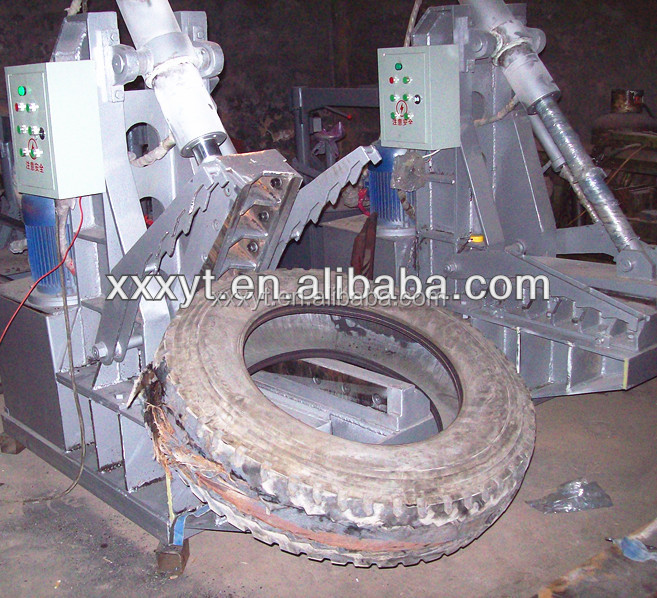 QDY700 made in China used rubber tire cutter machine for sale