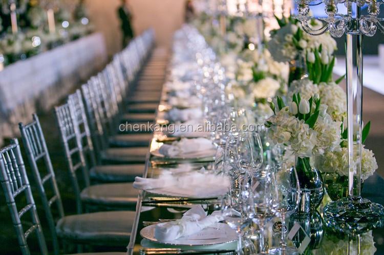 Gunstige Kristall Hochzeit Tisch Kerzenleuchter 3 Arme Glas