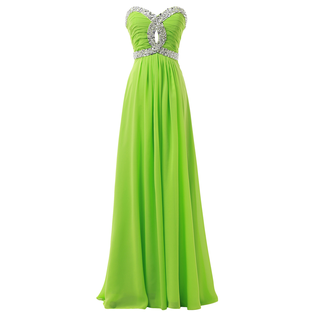 Light Green Evening Dresses Formal Dresses