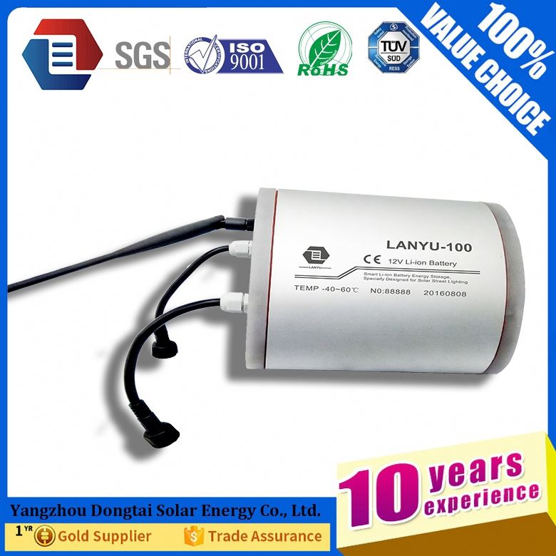 Factory price li-ion battery pack 12v 100ah for Telecommunication / UPS / Solar system / energy storage system /LYLIBR12V100B418