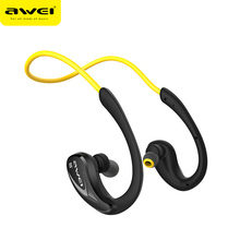 2018 awei brand best selling headphone A880BL distribute hands free bluetooth earphone with microphone