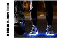 2017 Popular App Bluetooth Led Shoes App Control Via Phone Change ...