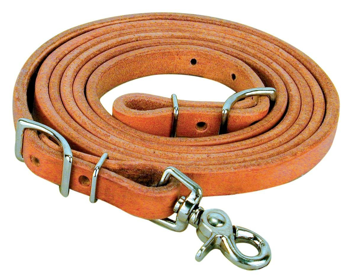 Reinsman Harness Leather Conway Roping Rein
